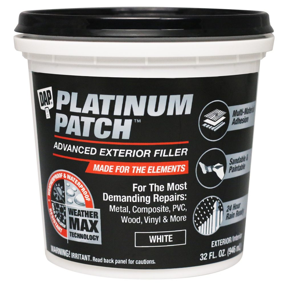 Sealant, filler feature Weather Max Technology