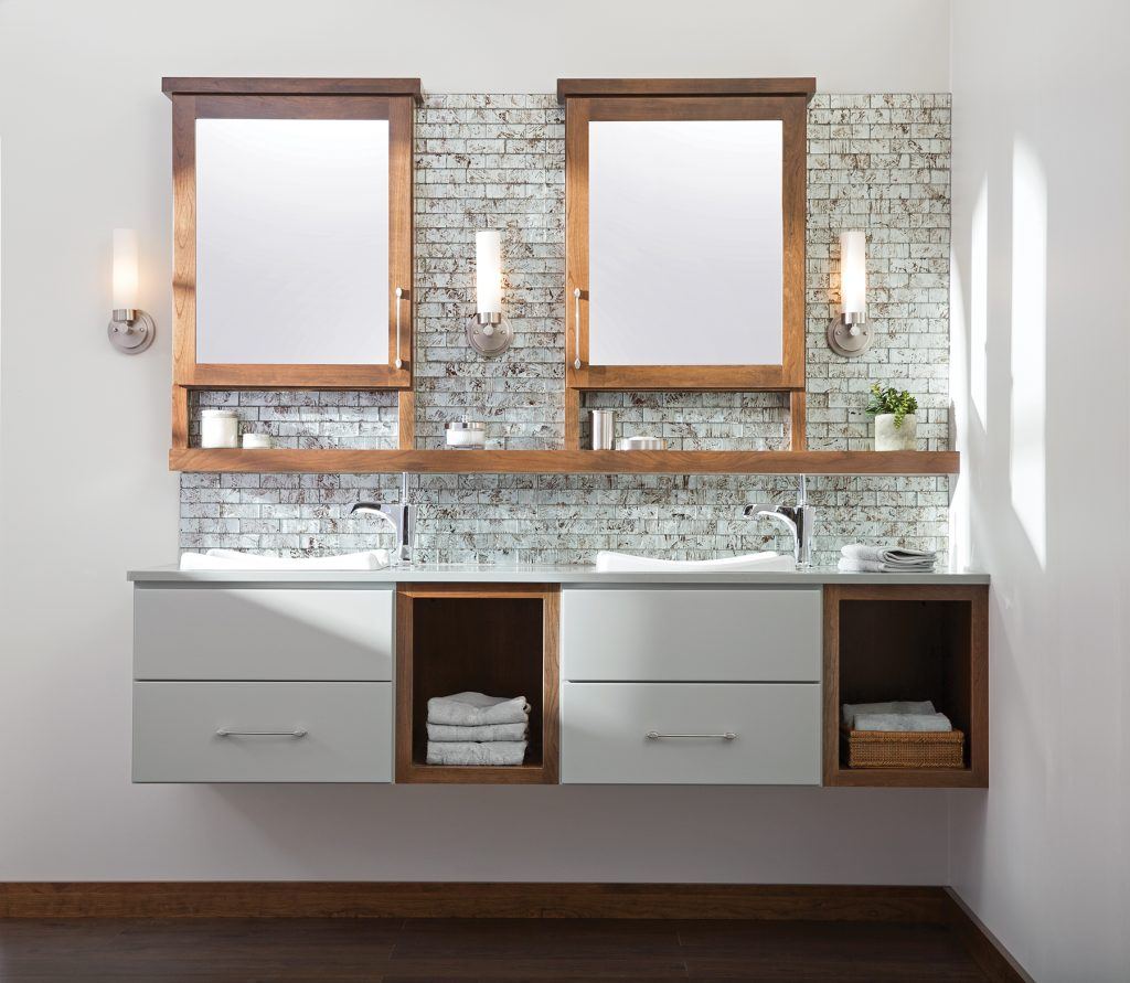 Floating Vanities and Linen Cabinets