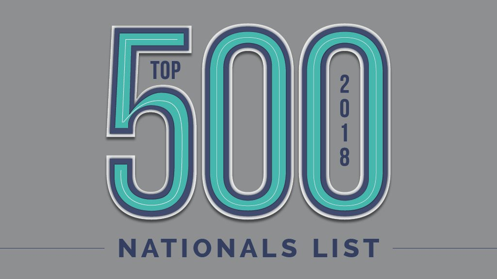 2018 Top 500: Nationals List