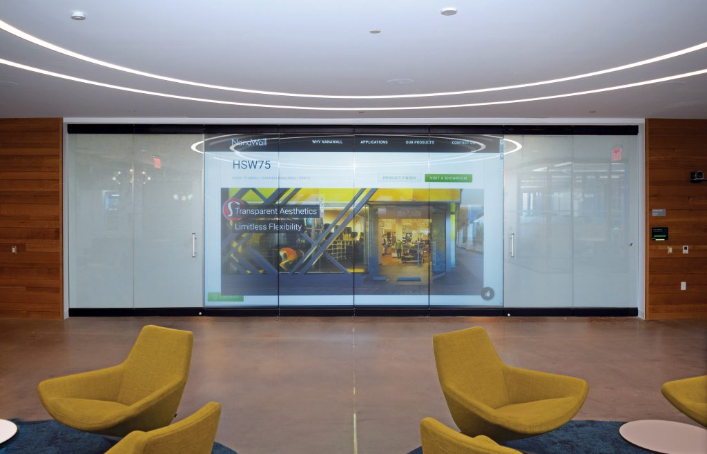 Operable Glass Wall System With Dynamic Glass Remodeling Industry News Qualified Remodeler