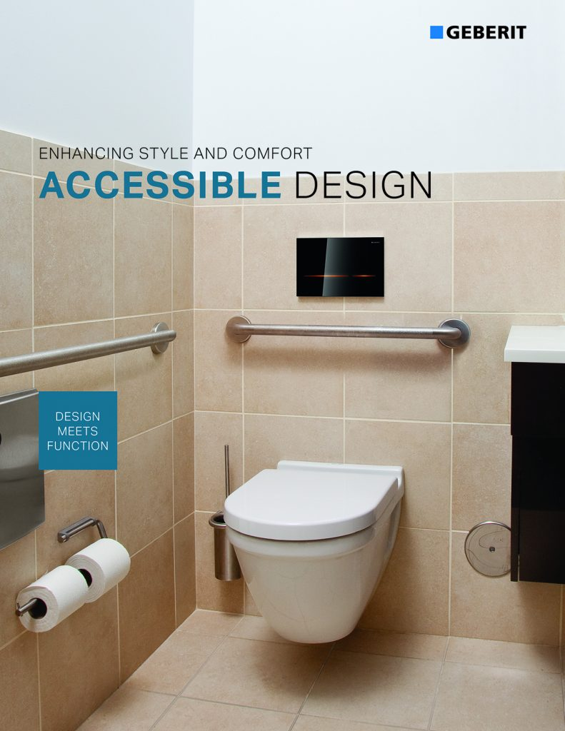 Geberit releases Accessible Design brochure