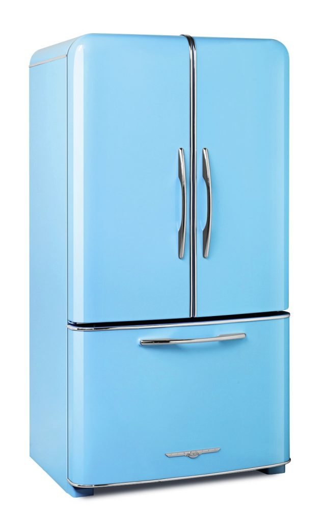 Beach Blue Refrigerator