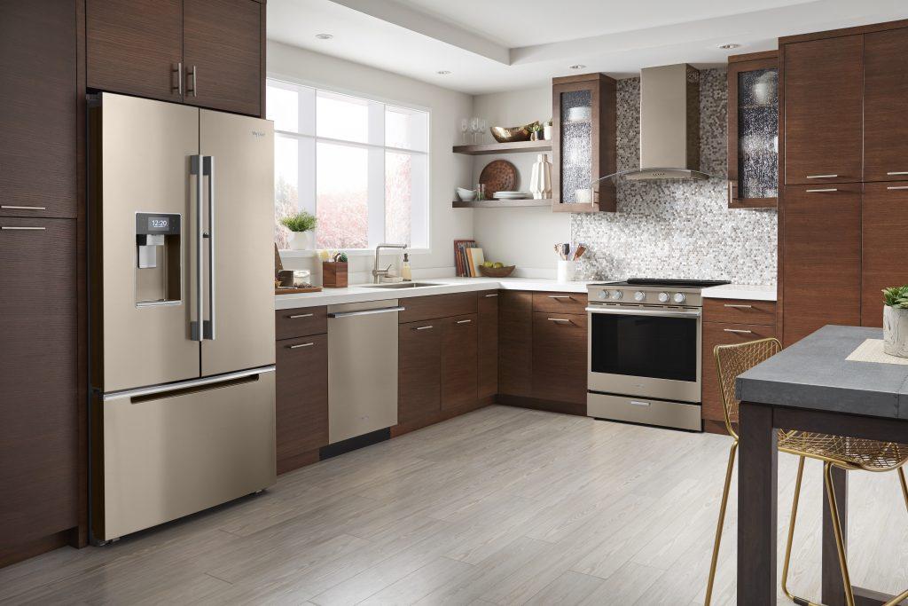 Warm Bronze Appliance Finish