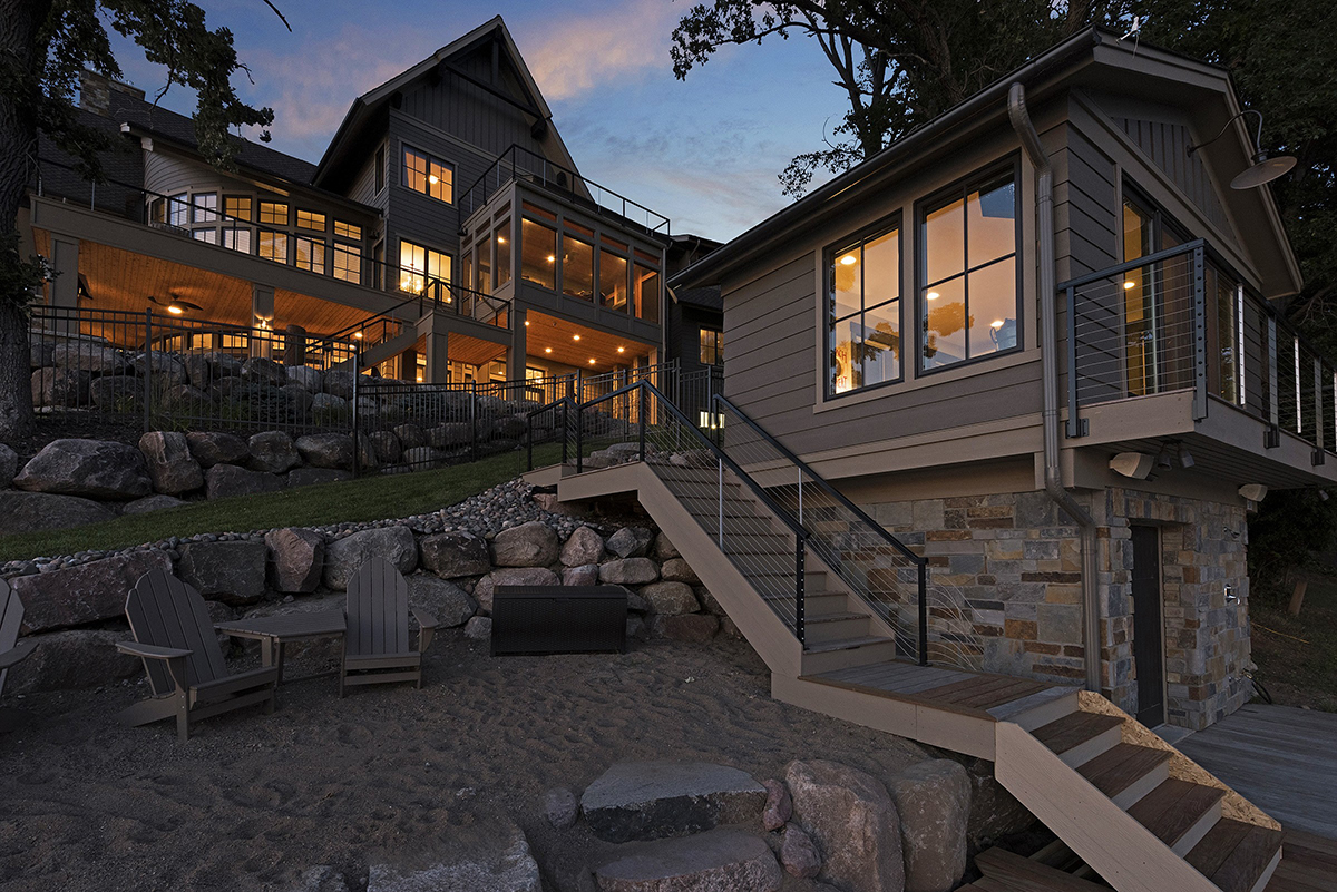 Lake Home Boathouse