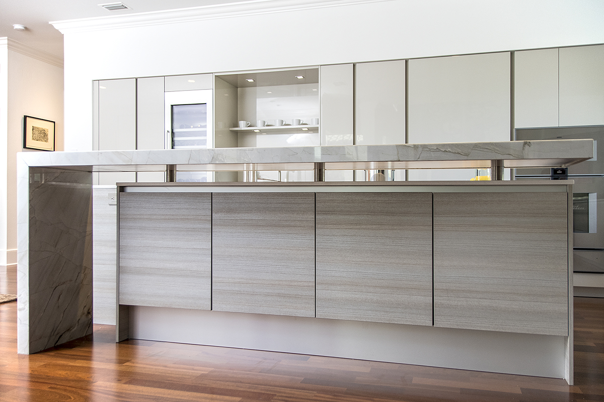 Contemporary Clean Kitchen