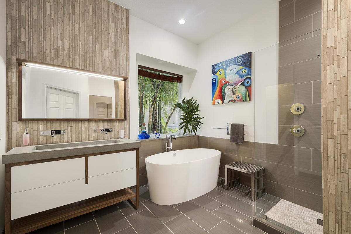Modern Zen Bath