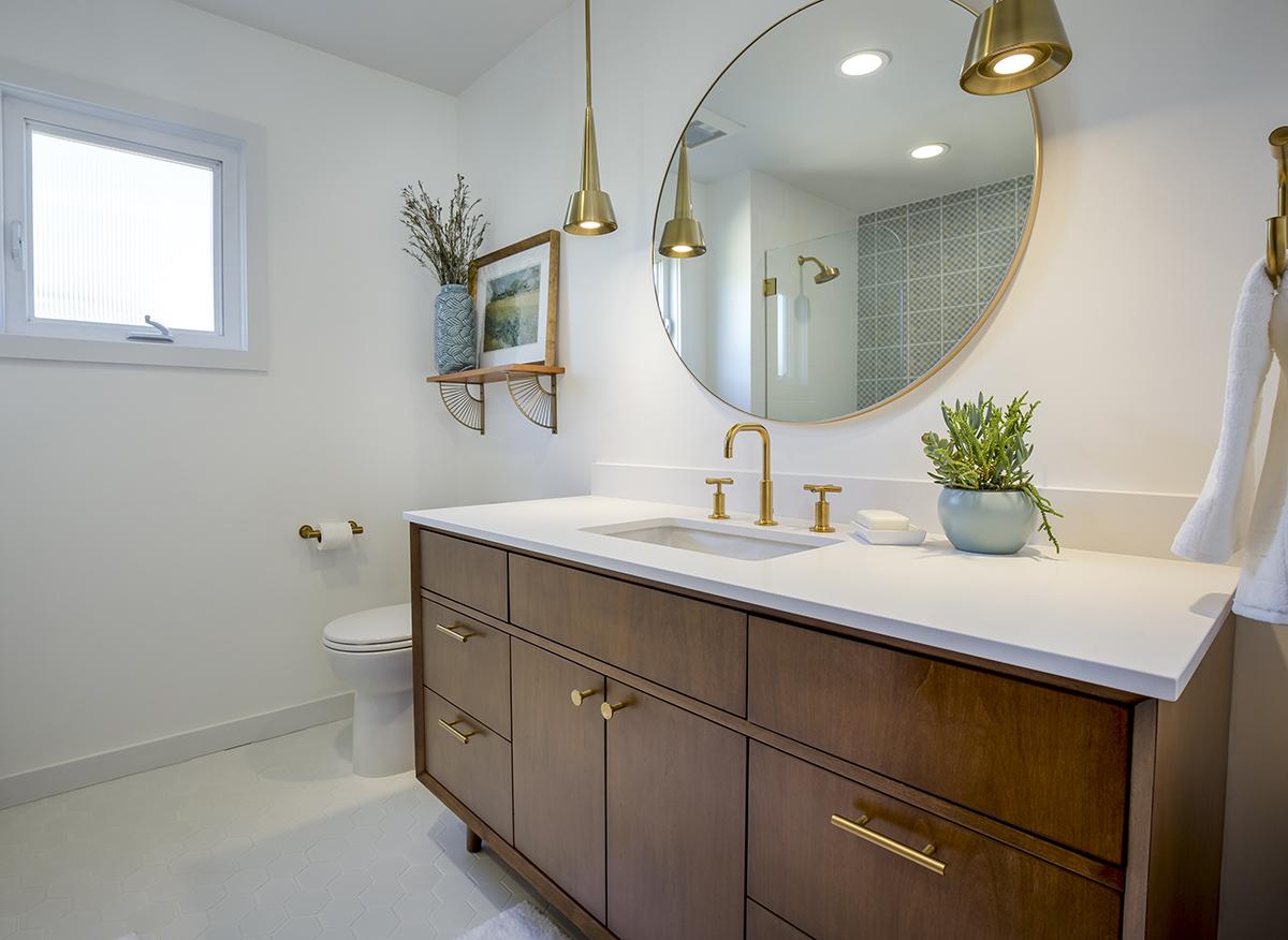 Mid-Century Modern Bathroom Remodel