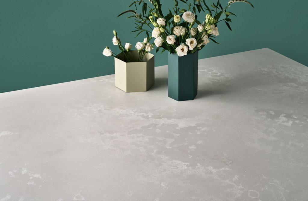 Concrete-Look Quartz Countertop