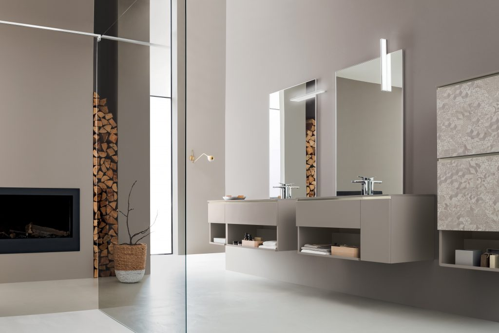 Flexible Bath Storage Design
