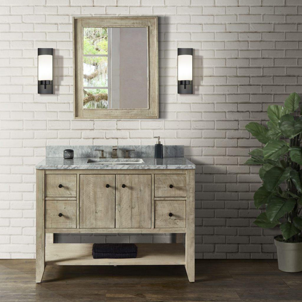 Distressed Bath Vanity