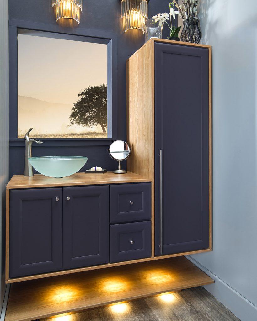 Program for wall-mounted vanities