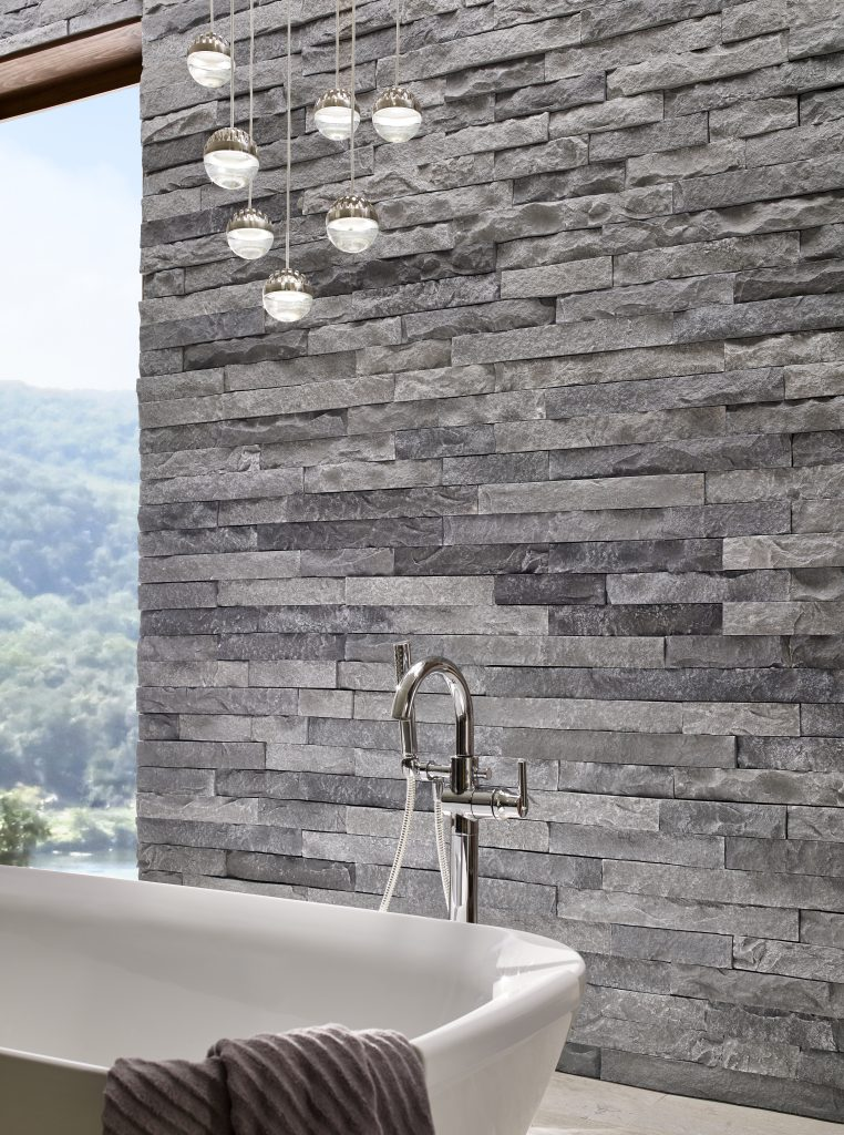 Authentic stone look in three lengths