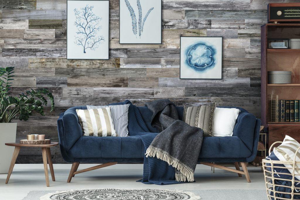 Functional yet stylish wood wall planks