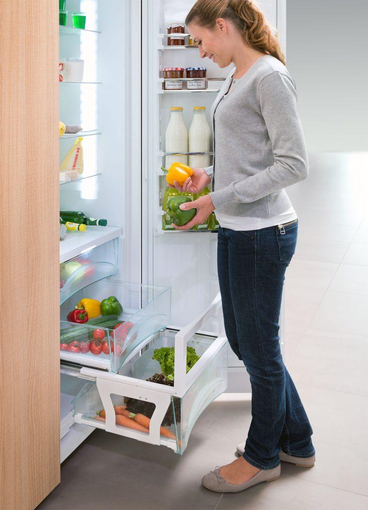 Refrigerator Crisper Access