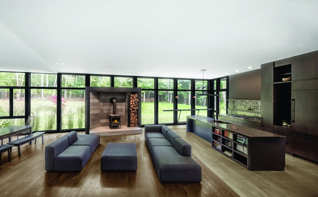Black, clear interior finish options