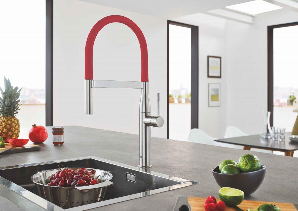 Change-Out Colors for Kitchen Faucet