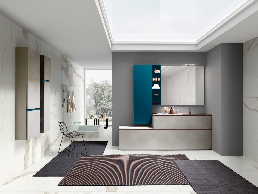 Fully customizable line of vanities