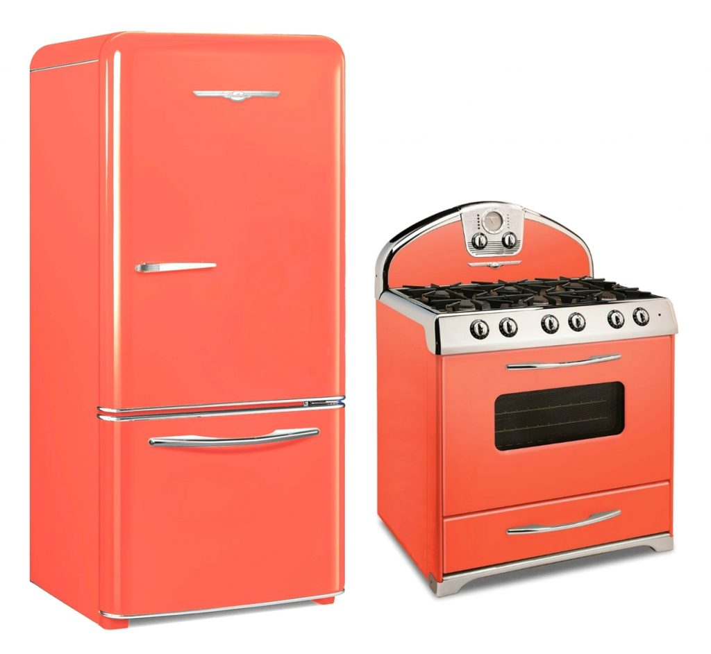 Living Coral Retro Appliances