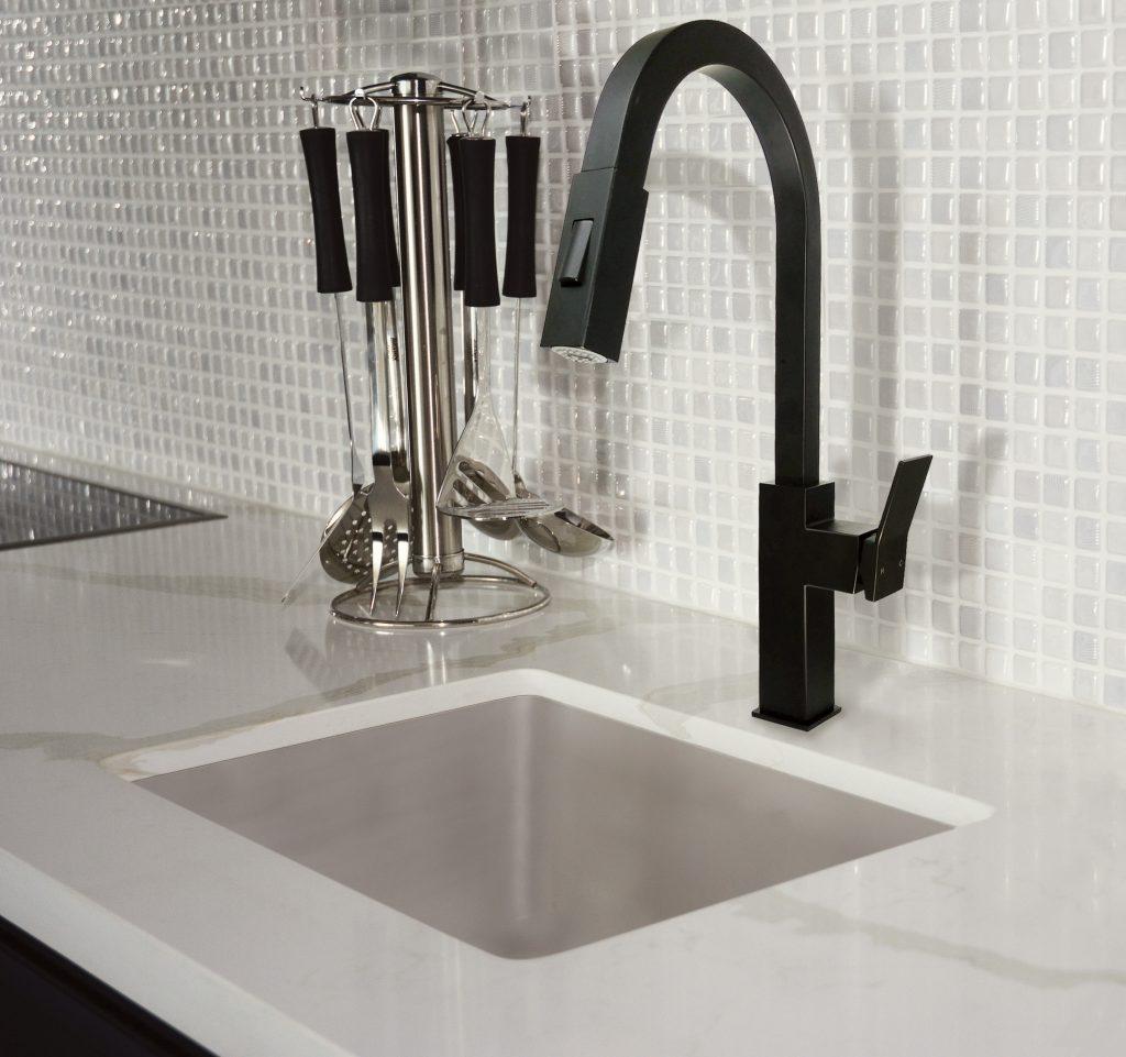 Black Matte Kitchen Faucet