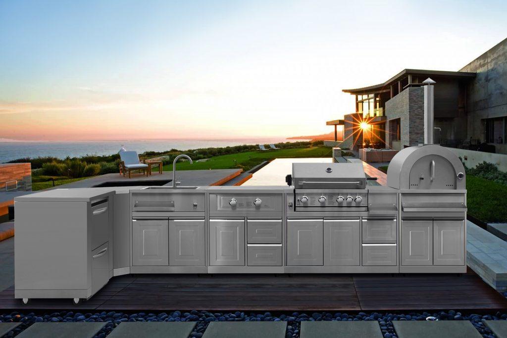 Modular Outdoor Kitchen Pieces