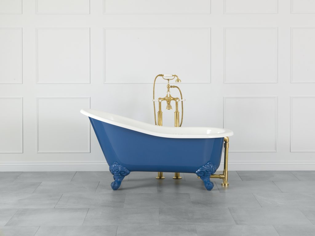 Personalize exterior color of bathtubs, basins