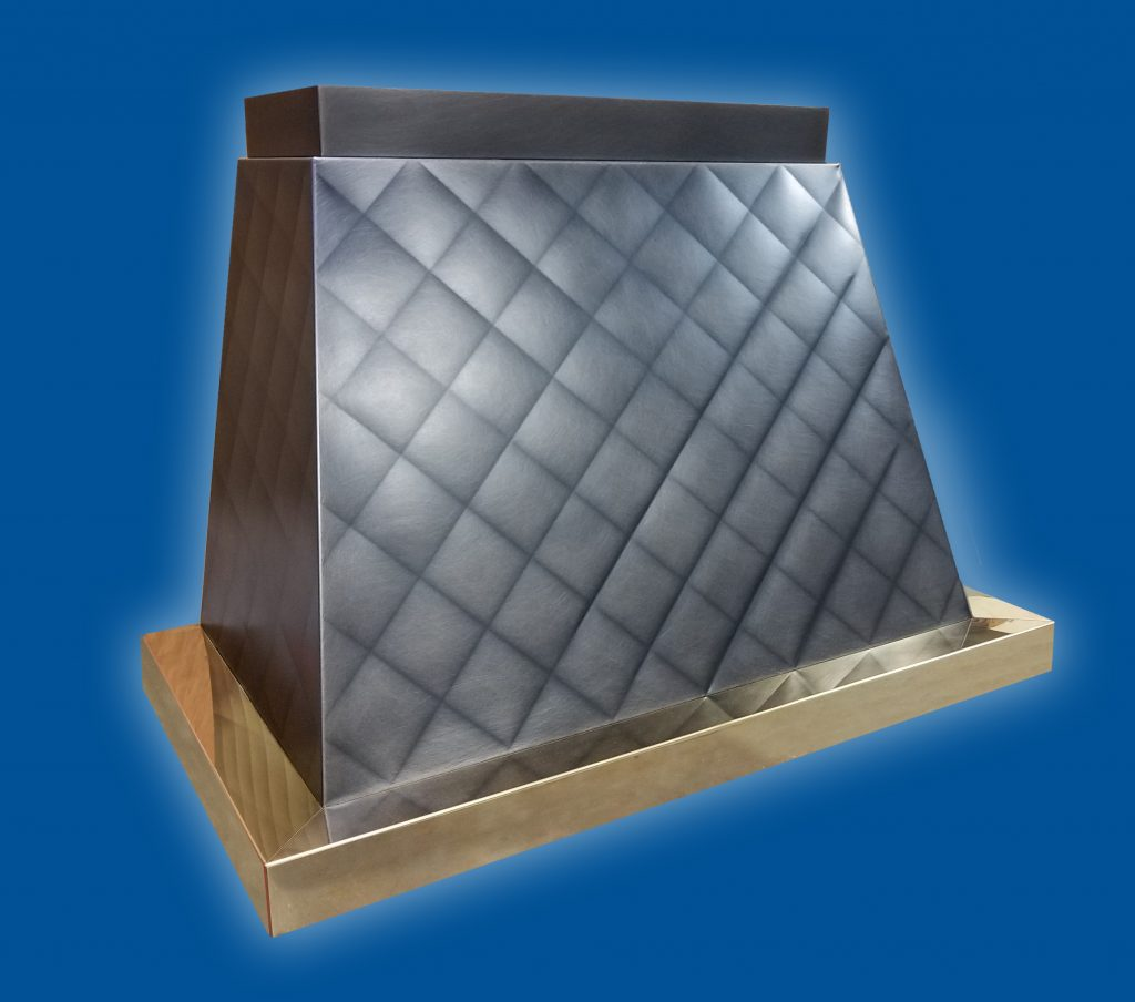 Quilted Pattern Range Hood