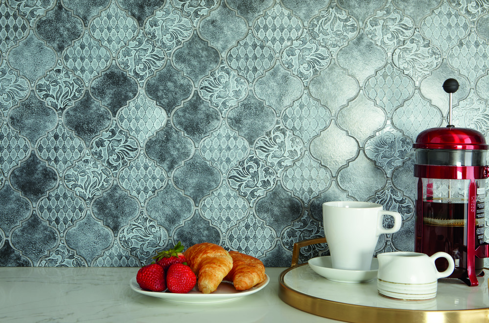 Vintage-Inspired Metal Tile