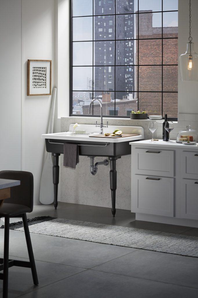 Apron-Front Kitchen Sink