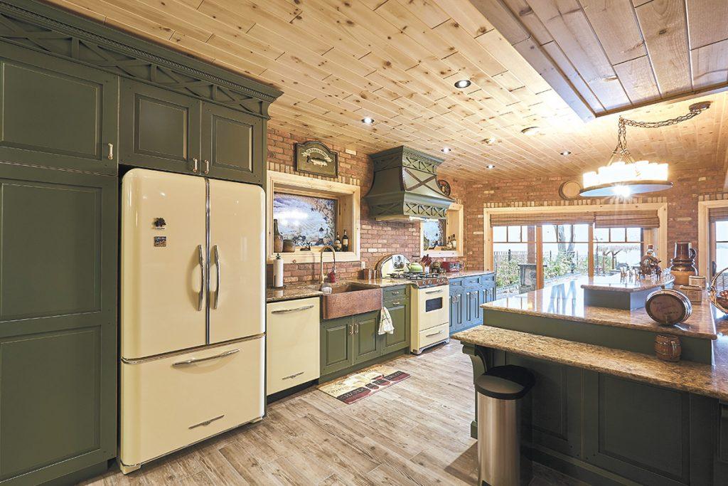 Cabin Boasts Culinary Double Take Kitchen Bath Design News