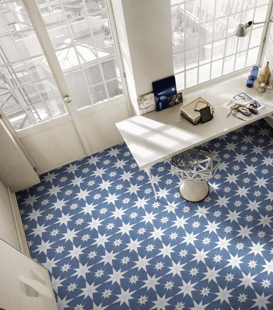 On-trend porcelain tile collections