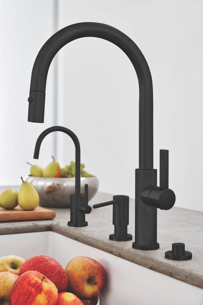 Black Matte Faucet Finishes