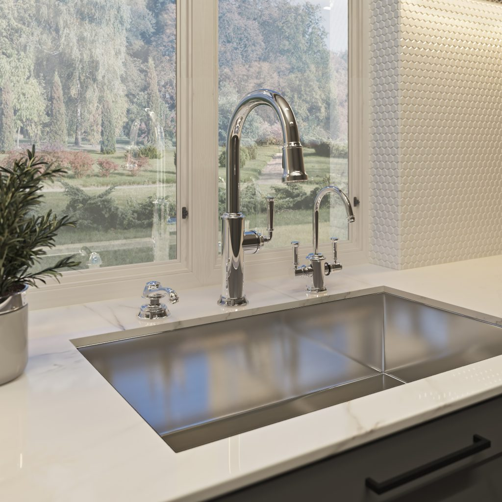 Industrial Inspired Faucet