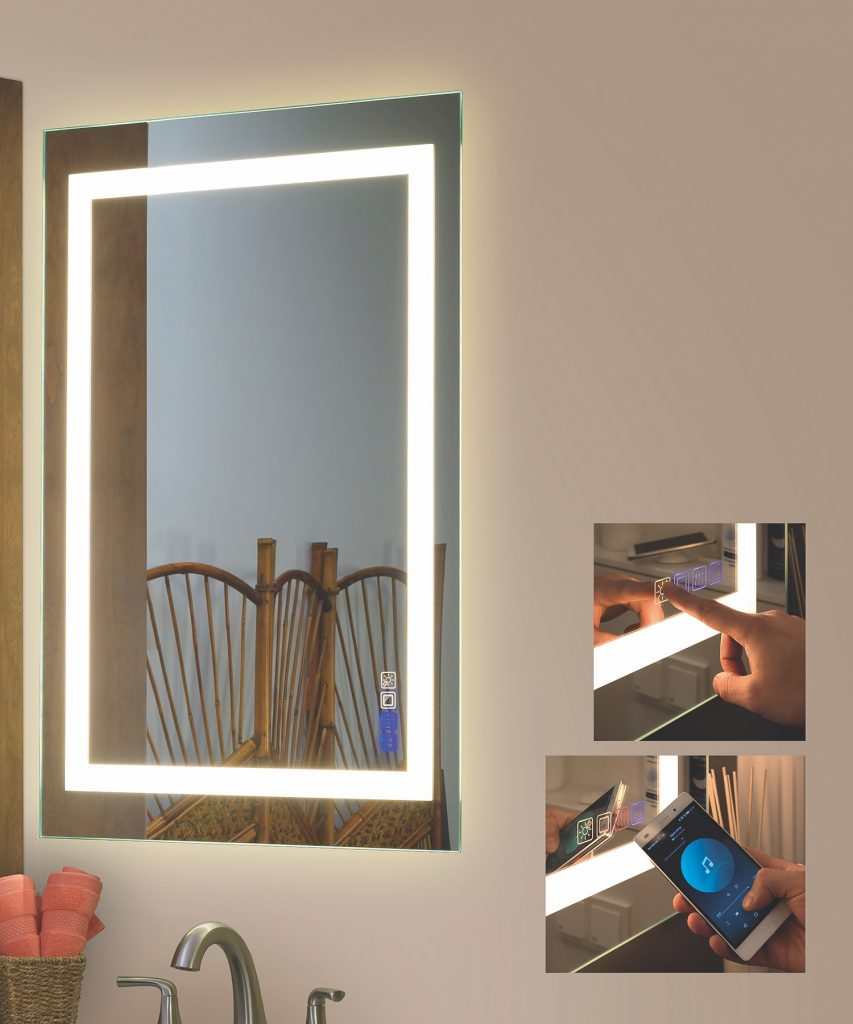 Bluetooth Connected Mirrors