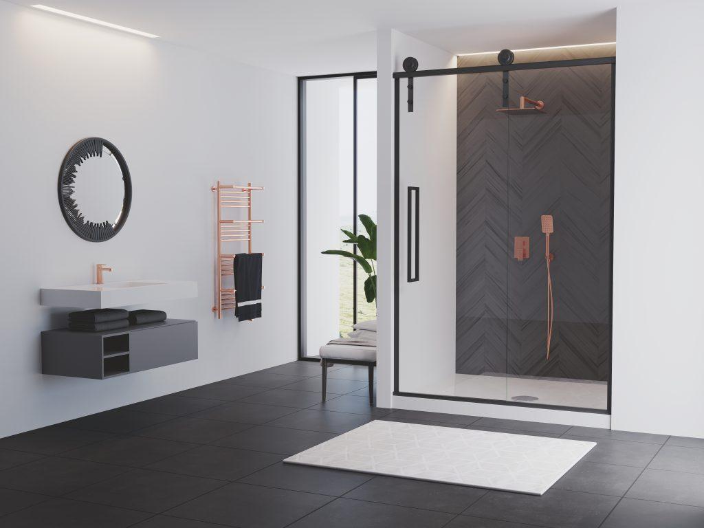 Rustic Shower Doors