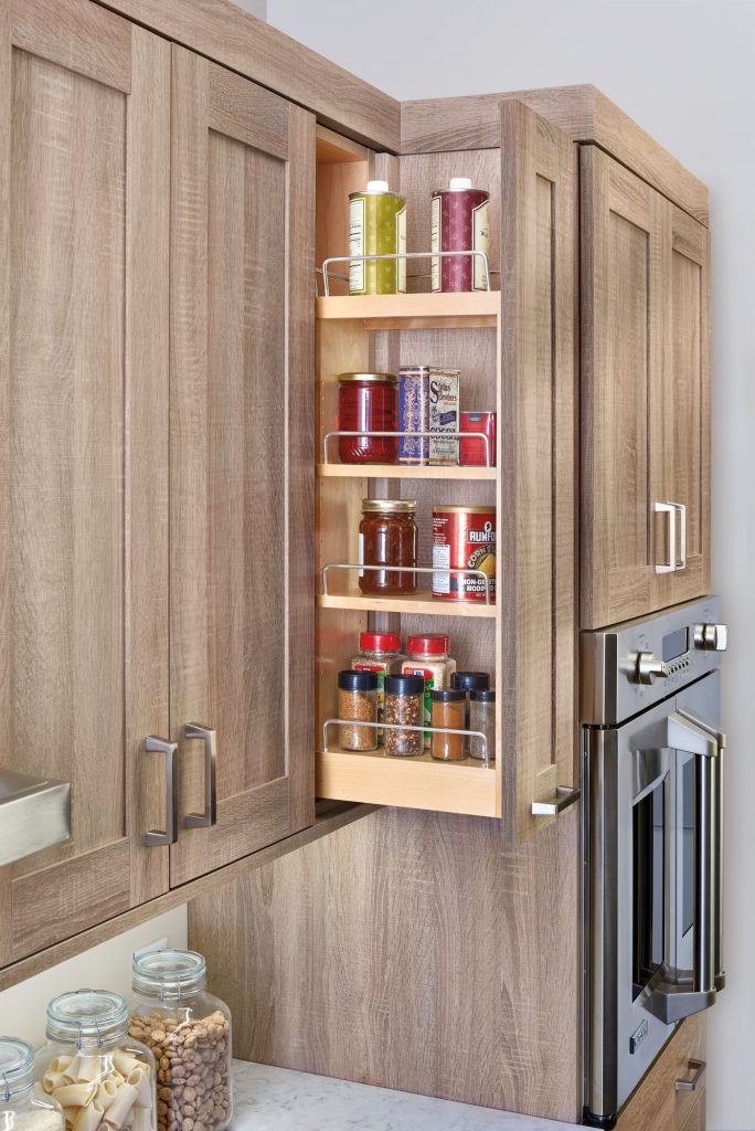 Wall Cabinet Pullout Shelving System