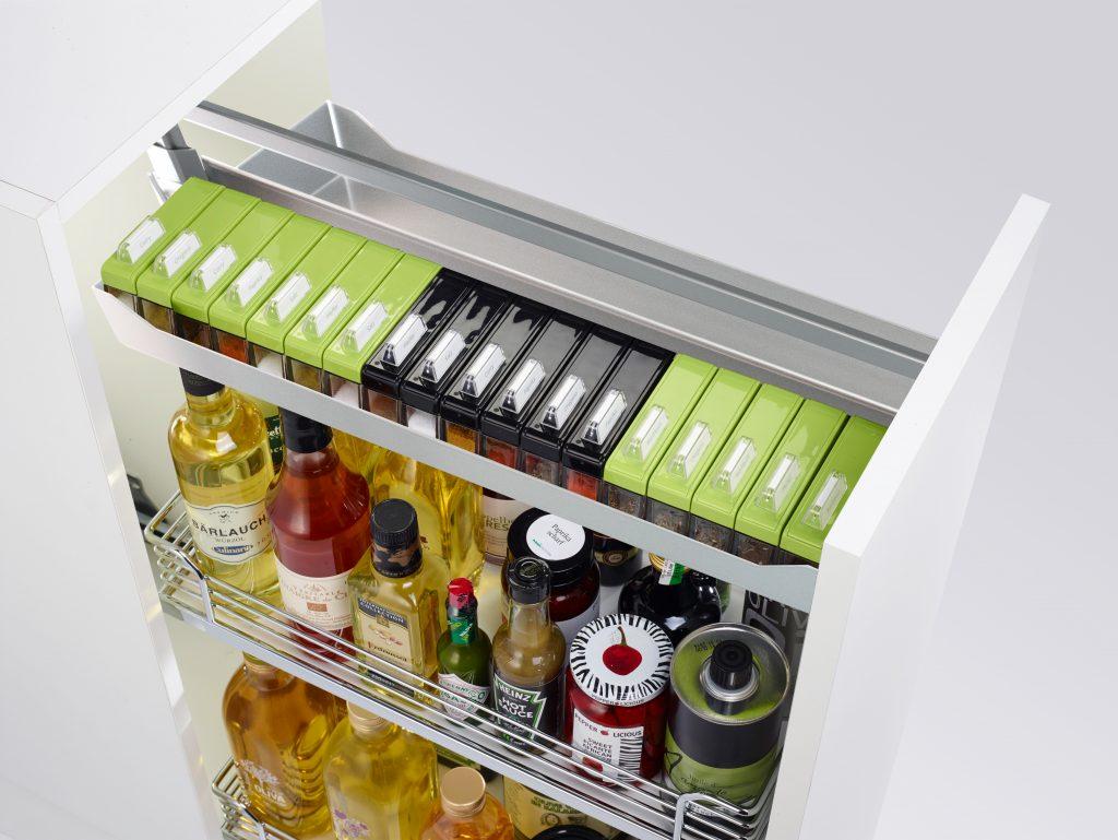 Custom Base Cabinet Storage Systems