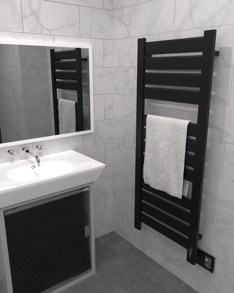 Modern design for towel warmer collection