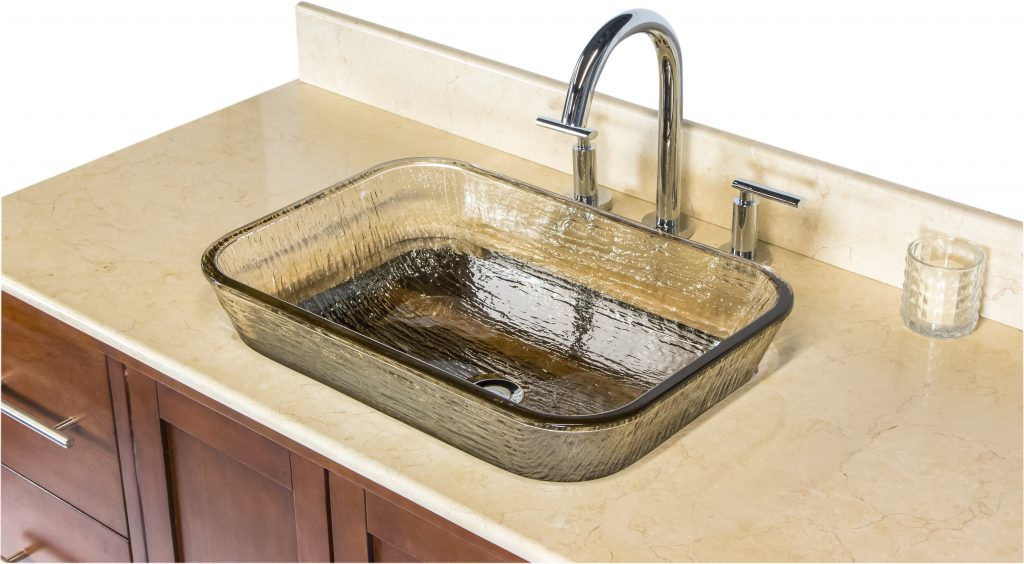 Oasis Glass Vessel Sink