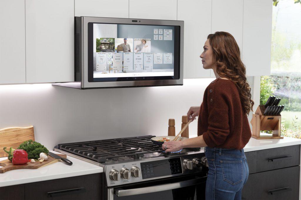 Smart kitchen center control ventilation, whole home