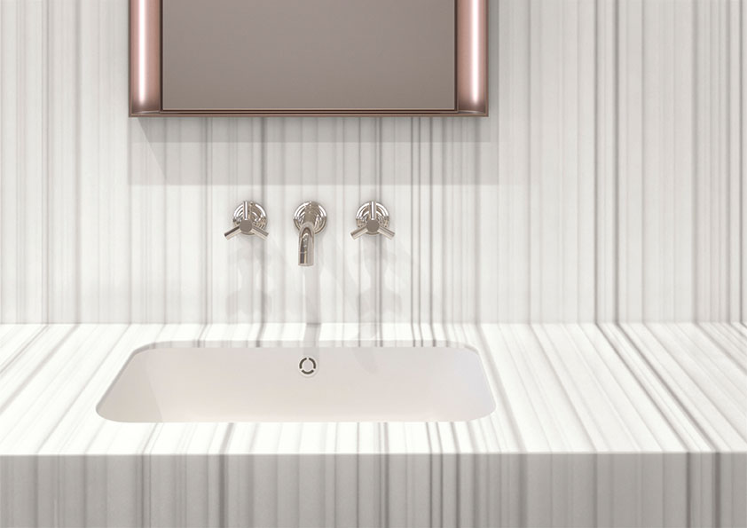 Color introductions across five solid surface collections
