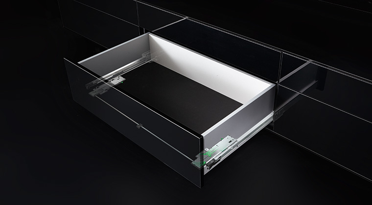 Dynapro Tipmatic Touch-To-Open Cabinet Drawer System