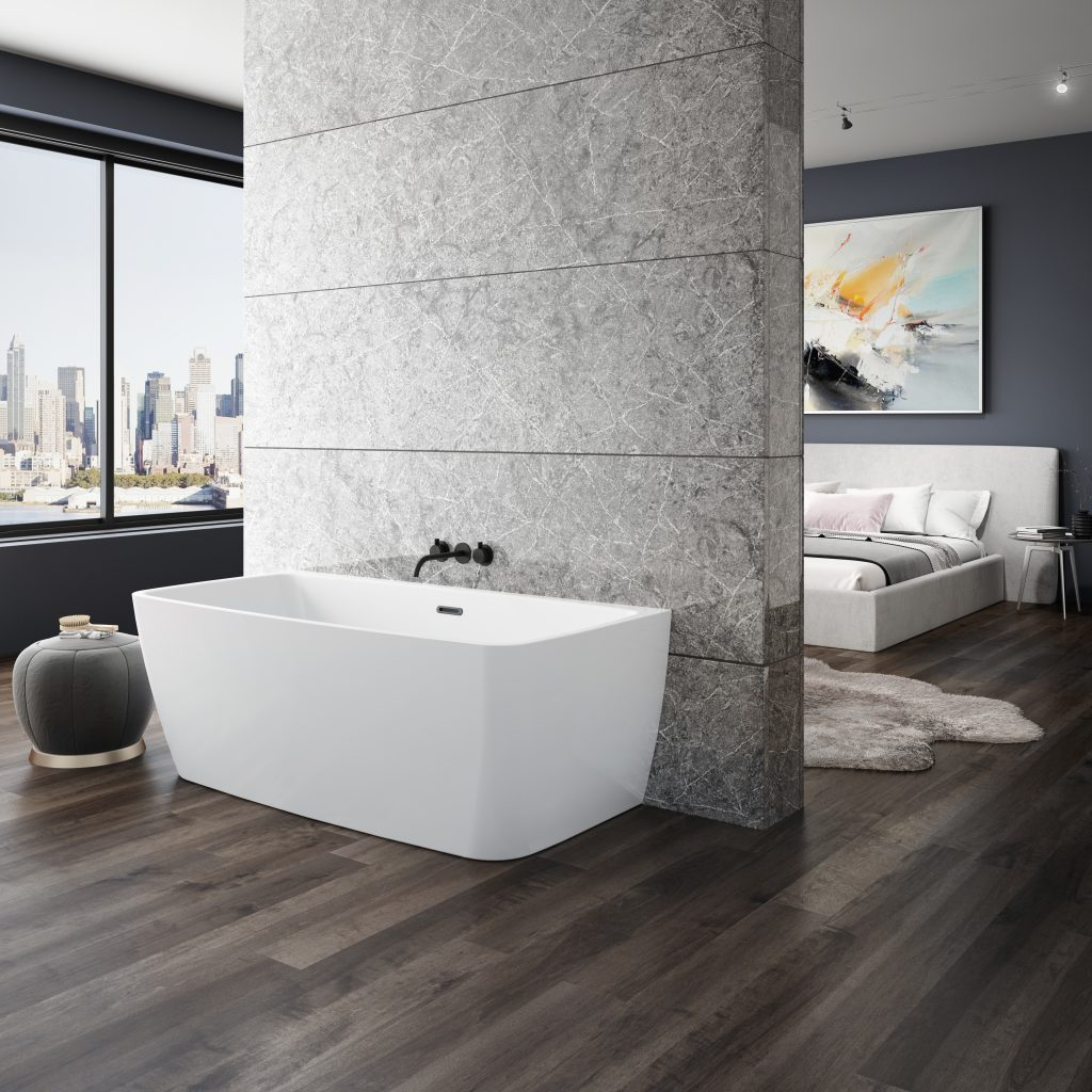 Bathtub collection designed for urban spaces