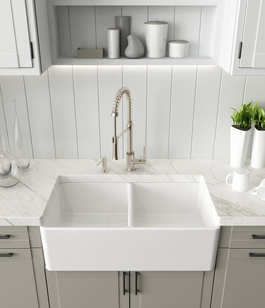 Minimalist Fireclay Sink