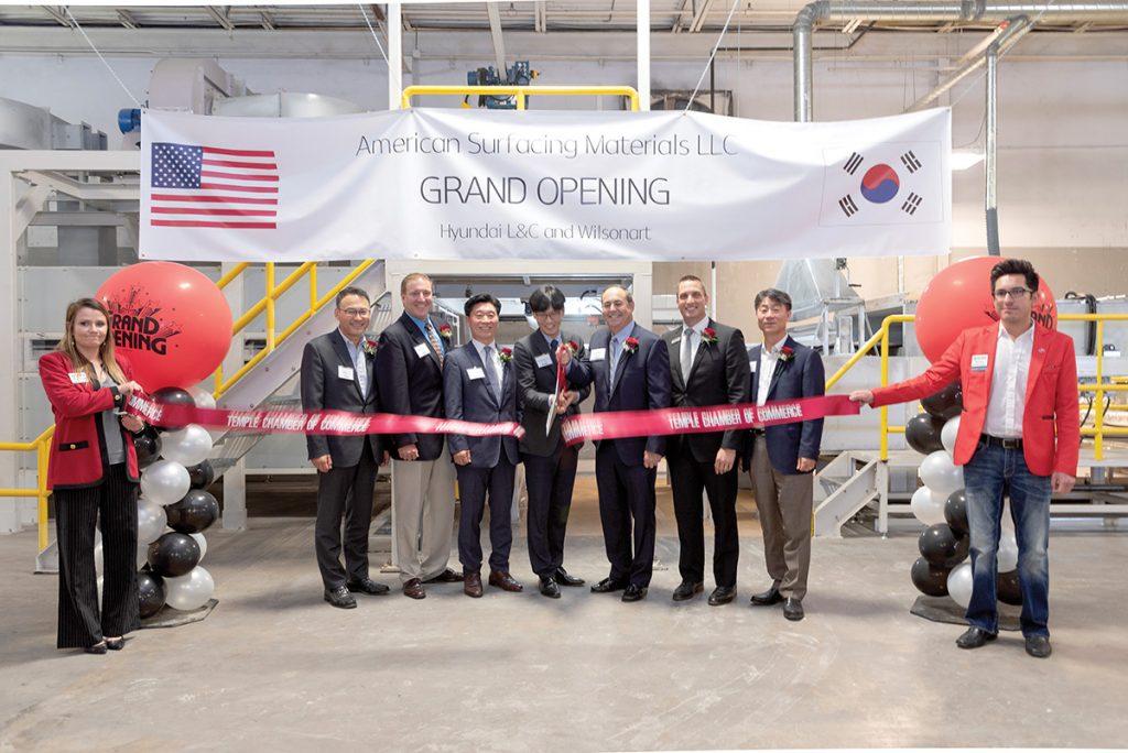 Wilsonart, Hyundai Mark Joint Venture