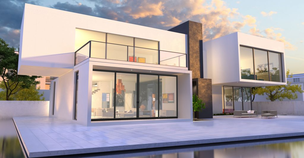 Low-profile patio door emphasizes performance