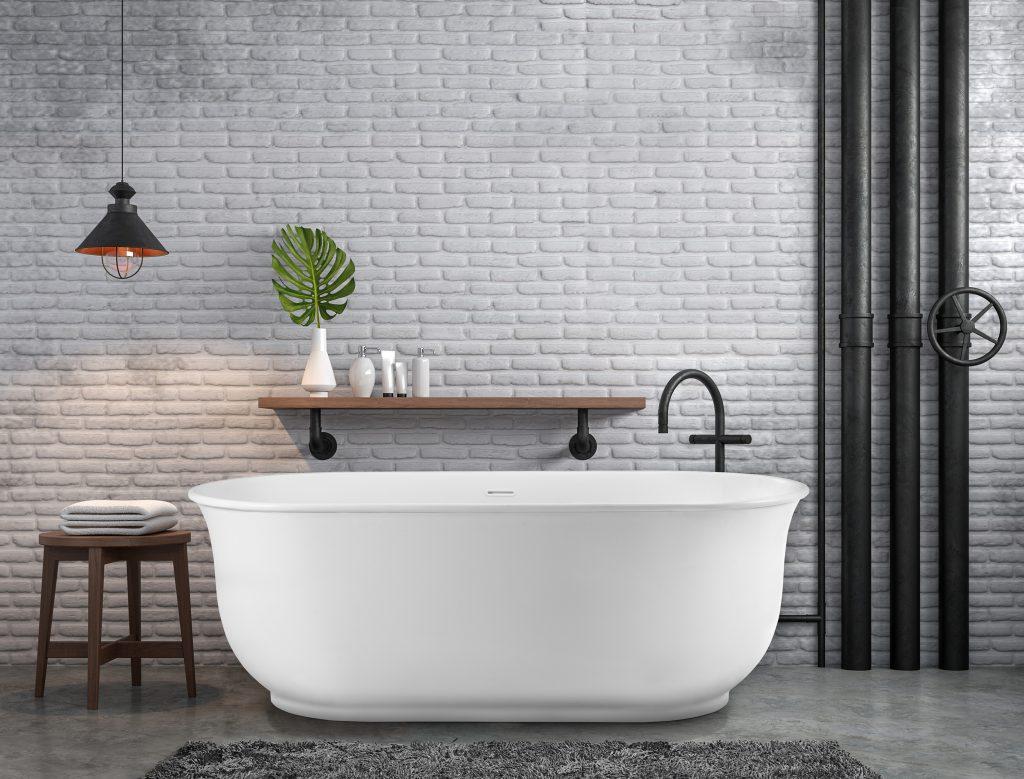 Deep-Welled Tub