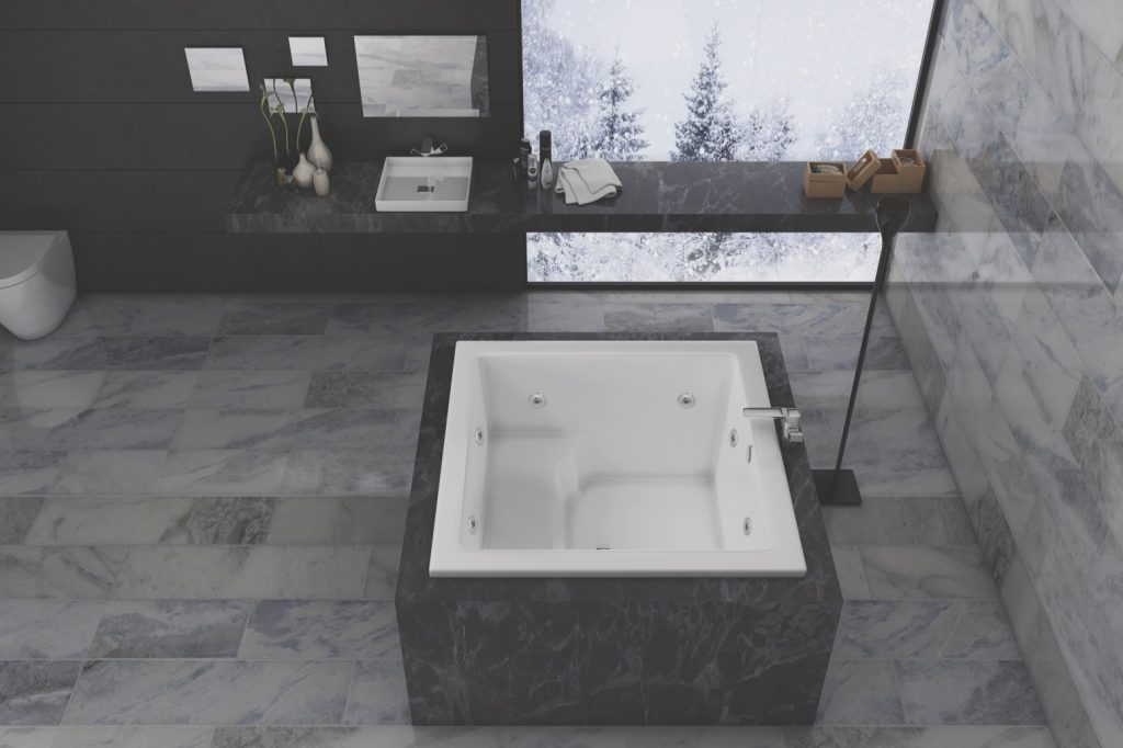 Japanese-inspired Tub