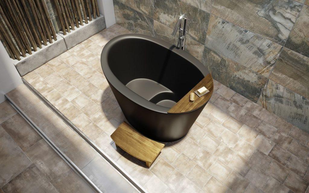 Heated Japanese Tub