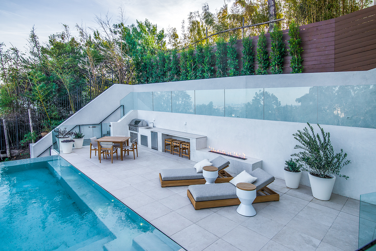 Beverly Hills Hillside Remodel