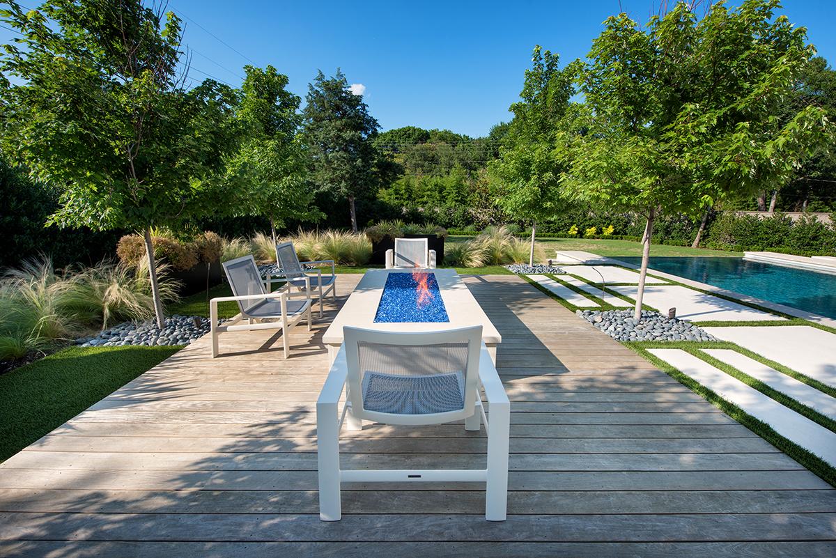 Bluffview Lap Pool + Cabana Addition